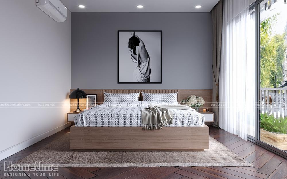 Không gian chỗ ngủ của gia chủ