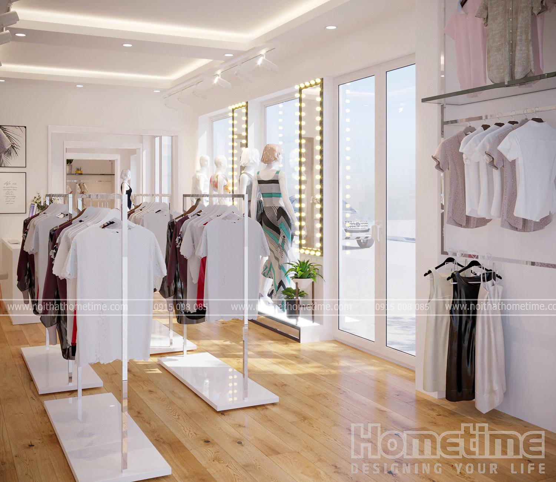 Thiết kế shop quần áo đẹp tại Hải Phòng