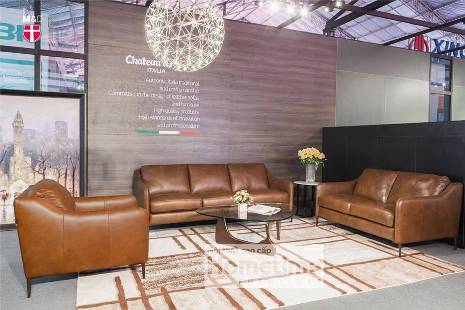 Full bộ sofa 3 văng sang trọng