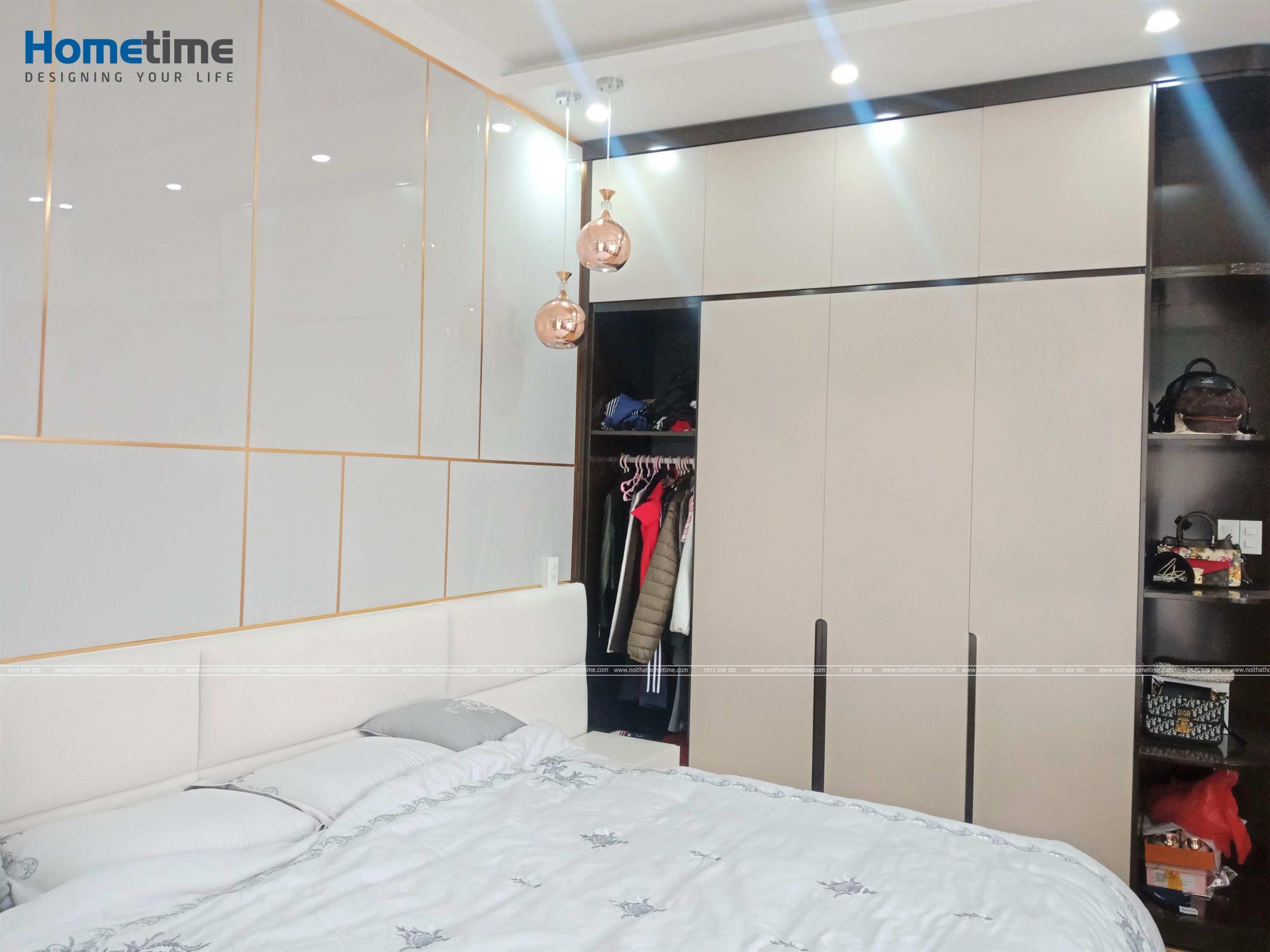 Không gian đẹp mắt của gian phòng ngủ