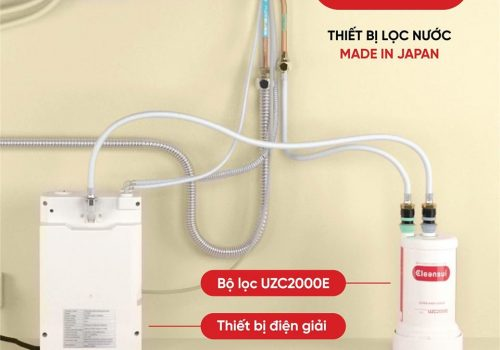 Bộ bình điện giải và bộ lọc ECU2000
