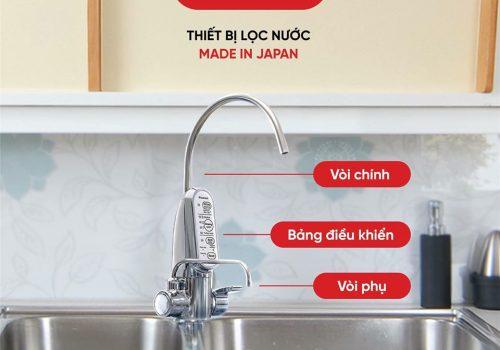 Thiết bị lọc nước cleansui EU301