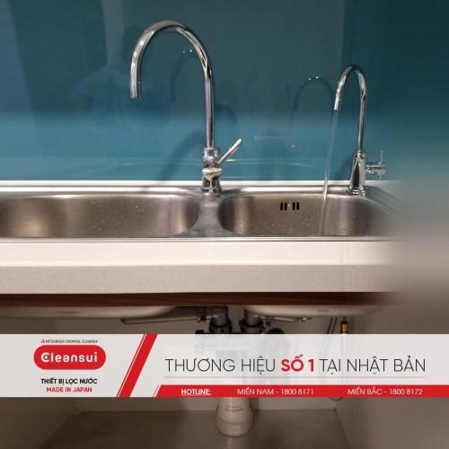 Bộ lọc nước lắp dưới chậu rửa