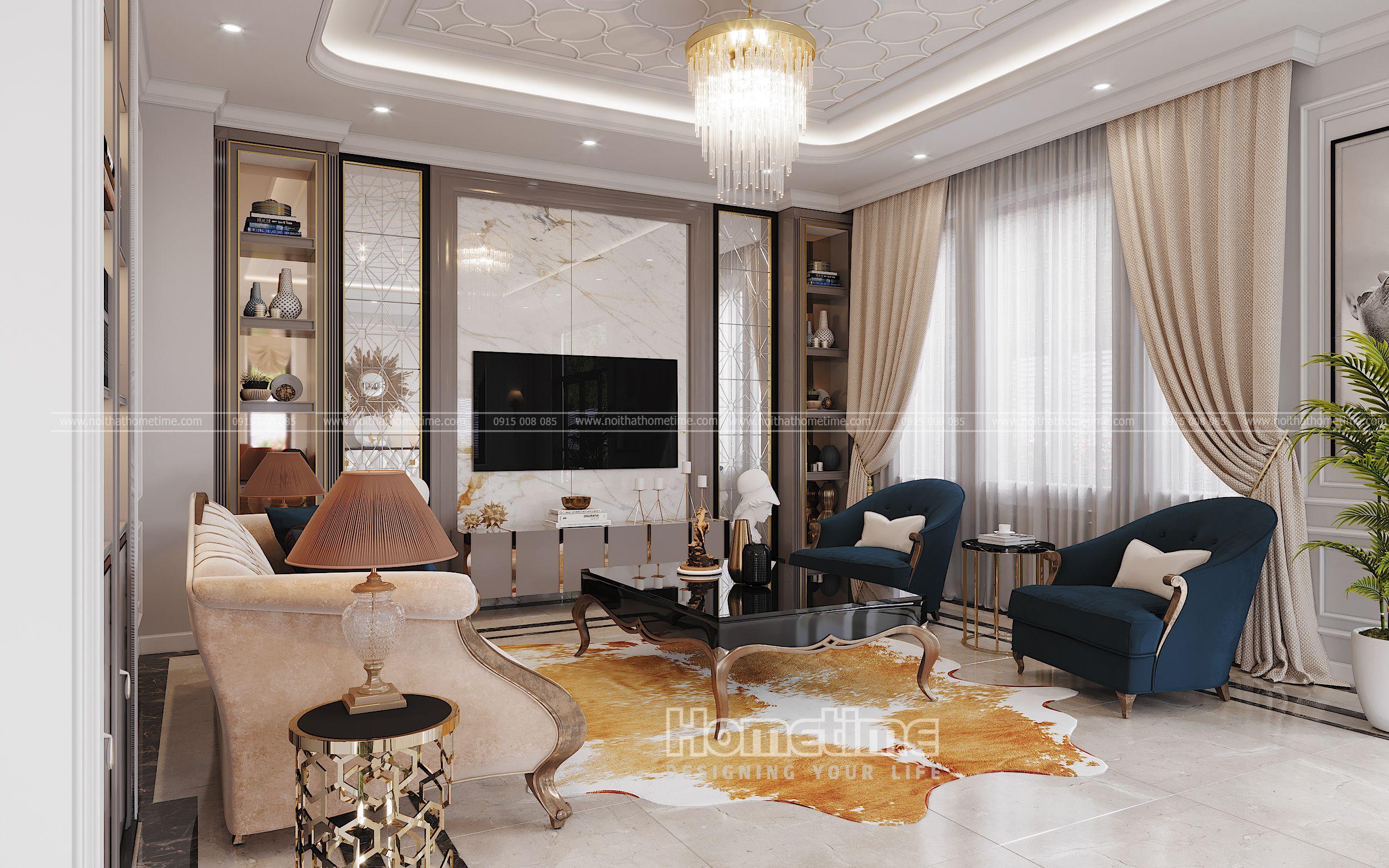 Vẻ đẹp từ những nội thất phòng khách trong thiết kế