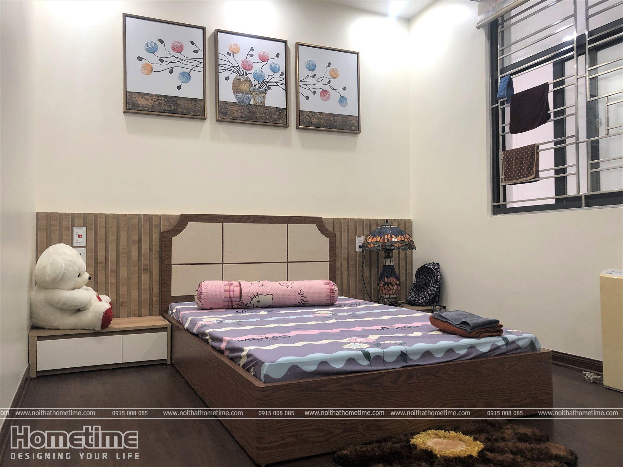 Thiết kế nội thất phòng ngủ theo phong cách dễ thương