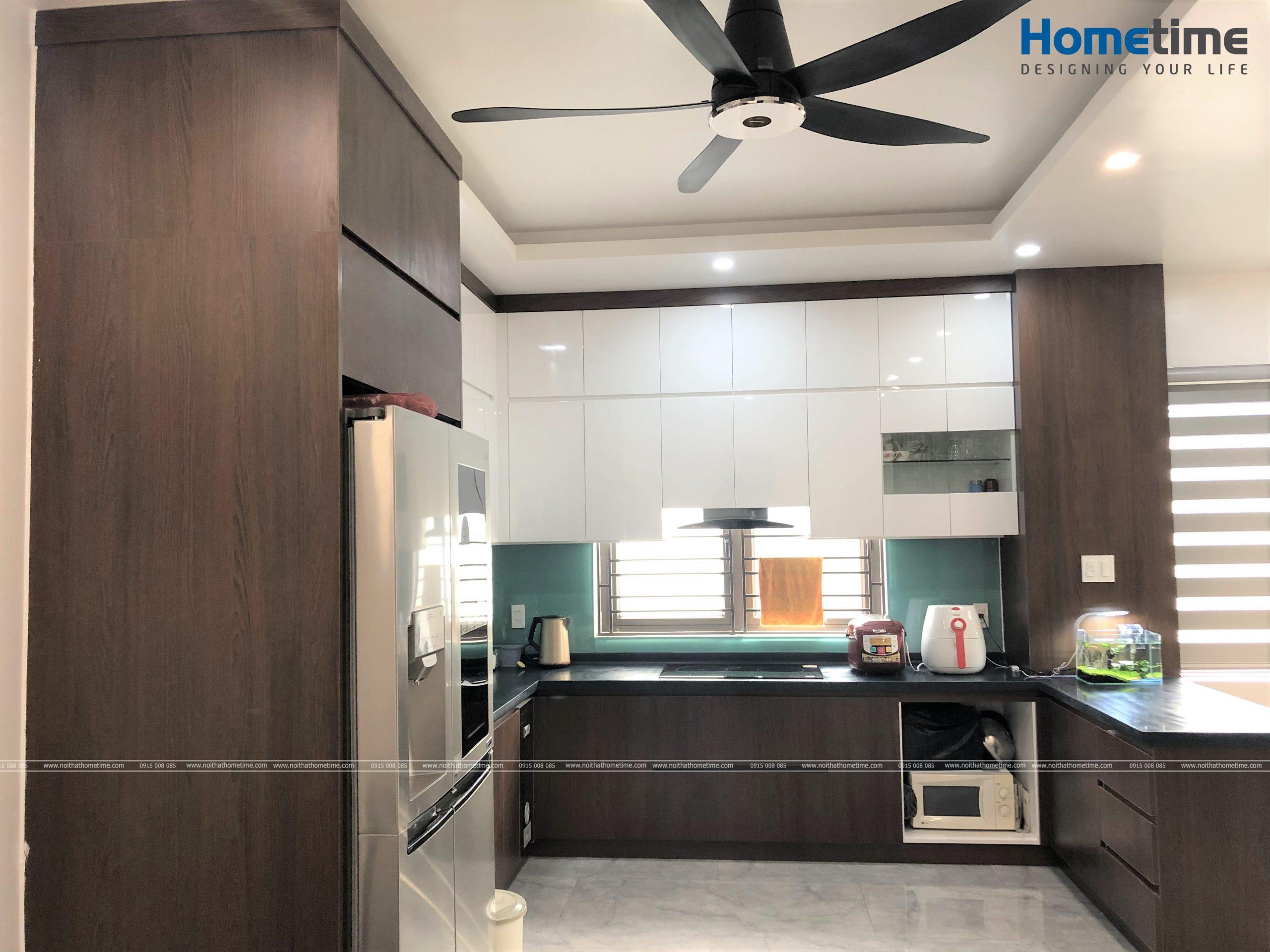Thiết kế tủ bếp đẹp với những công năng sử dụng tiện nghi