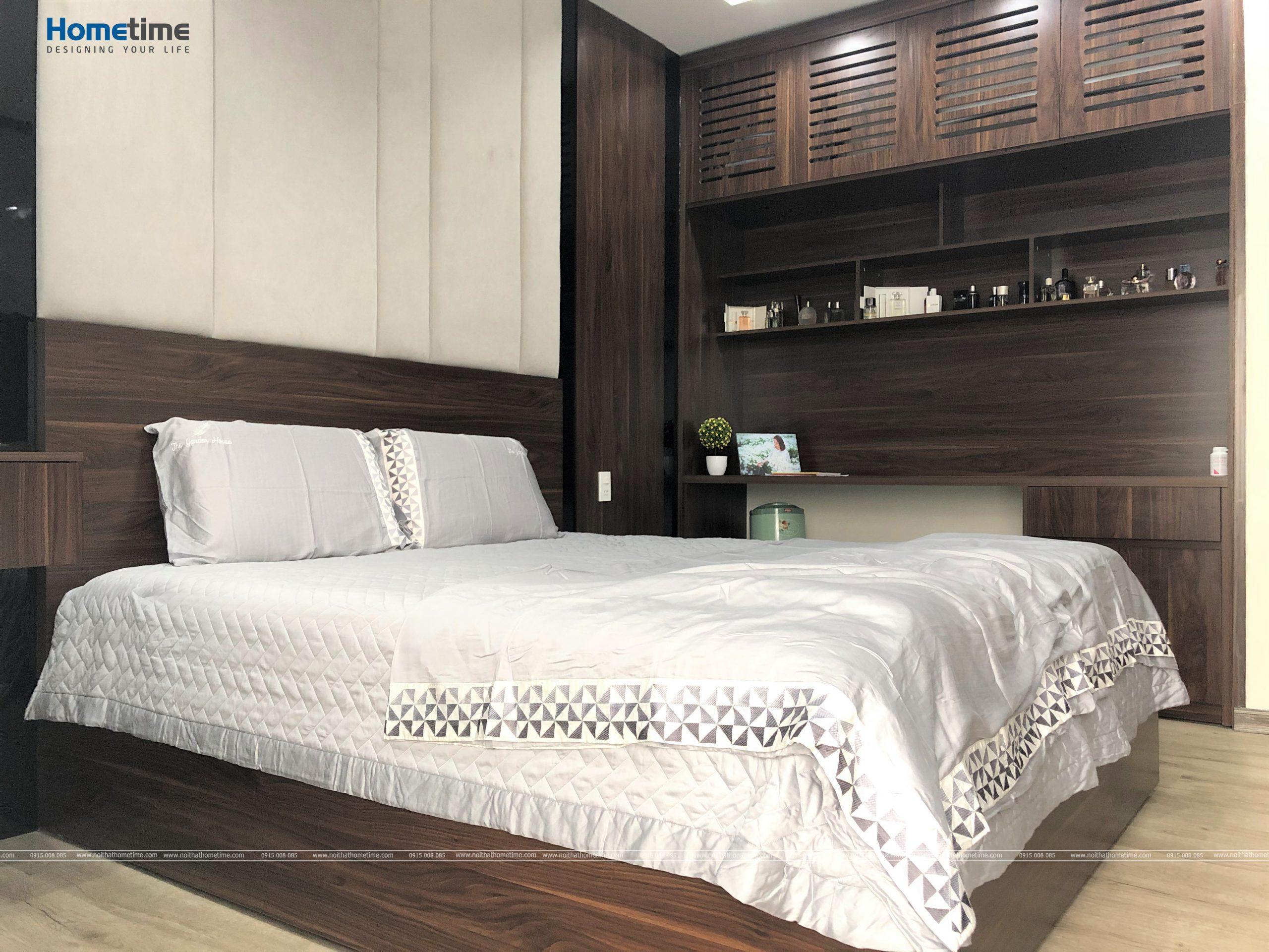 Giường ngủ êm ái đem đến những giấc ngủ an ổn cho gia chủ