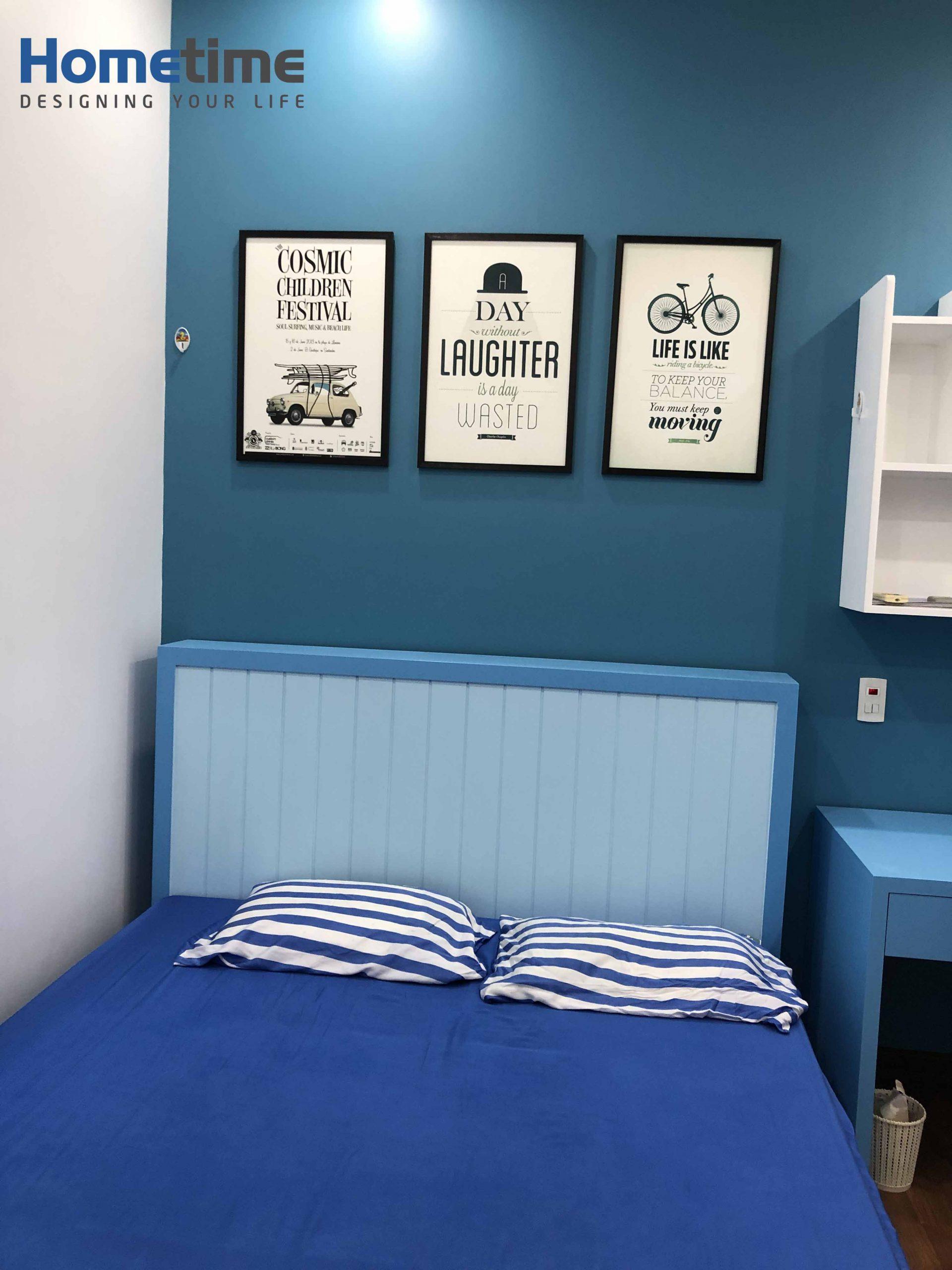 Nổi bật với bộ tranh trang trí phòng ngủ