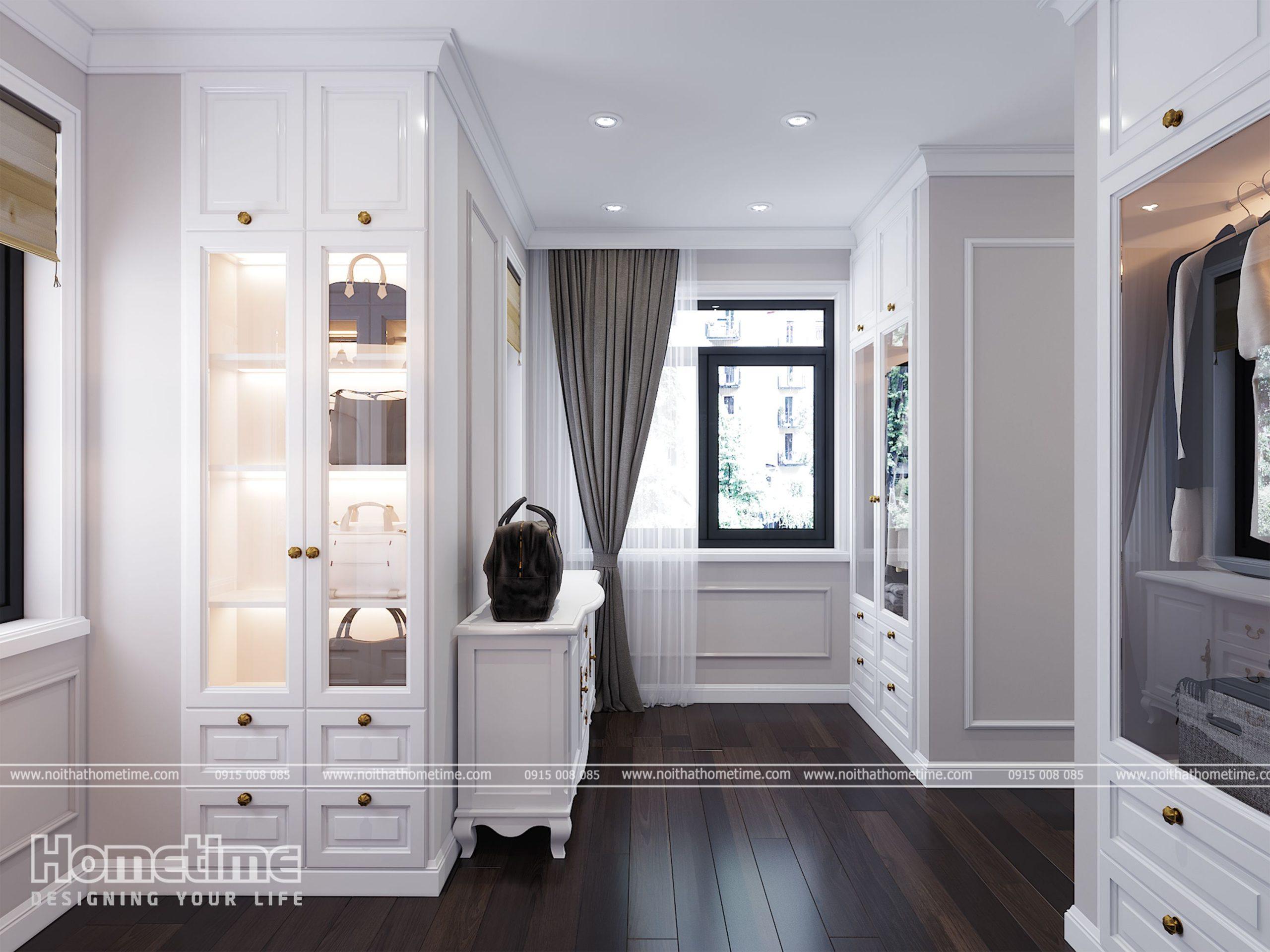 Đèn led gắn trong tủ sẽ giúp bạn tìm đồ khi không bật điện phòng
