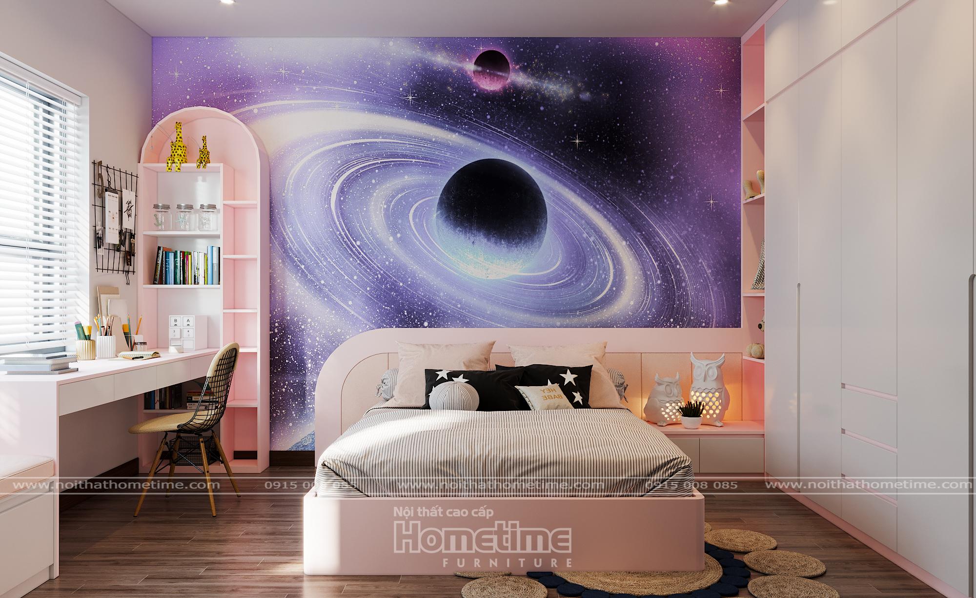 Phòng ngủ dễ thương dành cho bé
